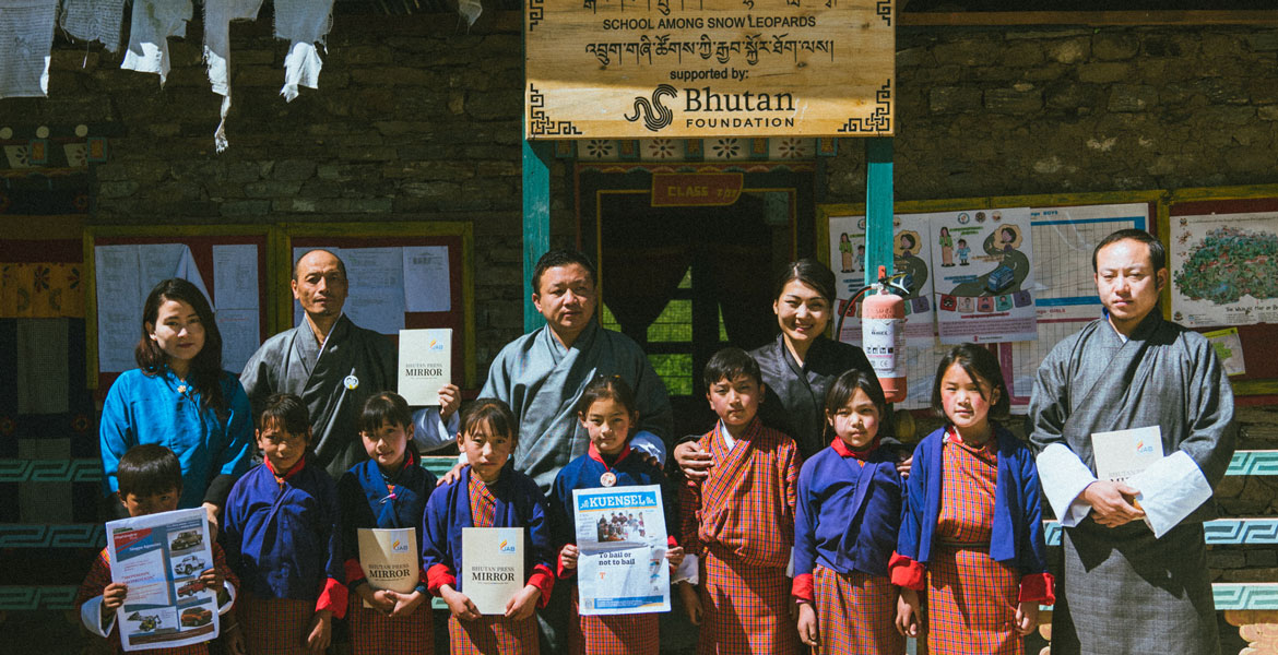 "JAB in Soe (among the most remote and also the smallest gewog in Bhutan) for ""Empowering Rural Communities Through Mass Media."" This was made possible with support from The United Nations Democracy Fund (UNDEF)."